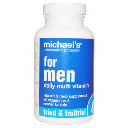 Michael's Naturopathic, For Men, Daily Multi Vitamin, 90 Veggie Tablets