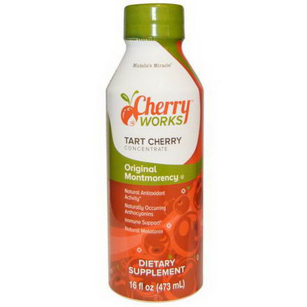 Michelle's Miracle, Original Montmorency, Tart Cherry Concentrate, 16 fl oz (473 ml)
