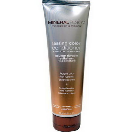 Mineral Fusion, Lasting Color Conditioner, For Color-Treated Hair, 8.5 fl oz (250 ml)