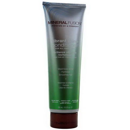 Mineral Fusion, Minerals on a Mission, Vibrant Shine Conditioner, 8.5 fl oz (250 ml)
