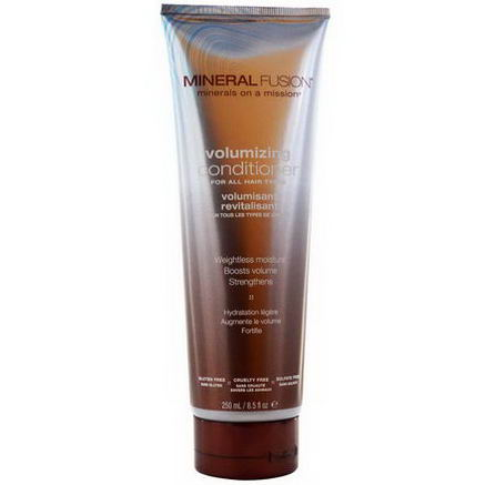 Mineral Fusion, Minerals on a Mission, Volumizing Conditioner, 8.5 fl oz (250 ml)