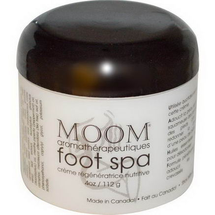Moom, Aromatherapy Foot Spa, 4oz (112g)