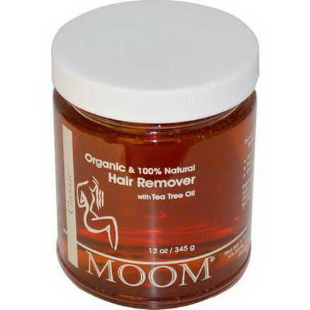 Moom, Hair Remover, with Tea Tree Oil, Classic, 12oz (345g)