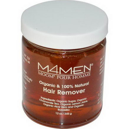 Moom, M4Men, Hair Remover, for Men, 12oz (345g)