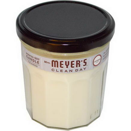 Mrs. Meyers Clean Day, Scented Soy Candle, Lavender Scent, 7.2oz