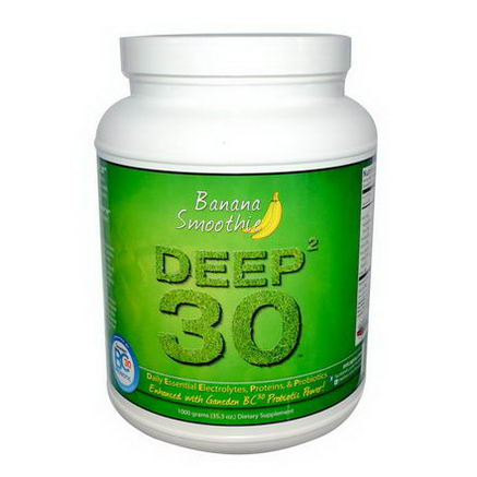 Mt. Capra, Deep 30, Goat Milk Protein, Banana Smoothie, 2 lb