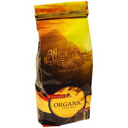 Mt. Whitney Coffee Roasters, Organic Ground Coffee, French Roast, 12oz (340g)