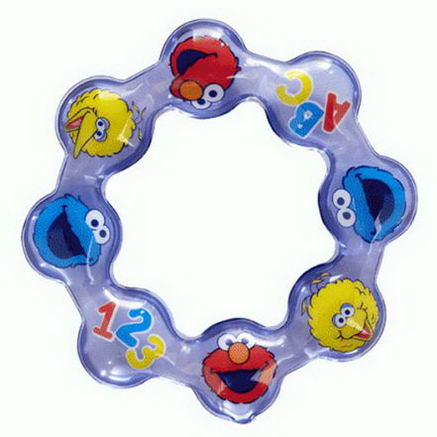 Munchkin, Sesame Street, Chilly Ring Teether