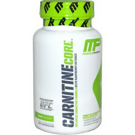 Muscle Pharm, Carnitine Core, 60 Capsules