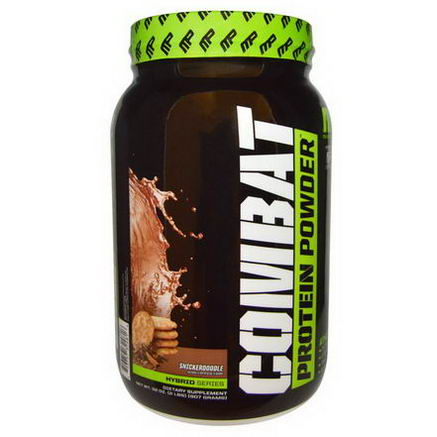 Muscle Pharm, Combat Protein Powder, Snickerdoodle, 32oz (907g)