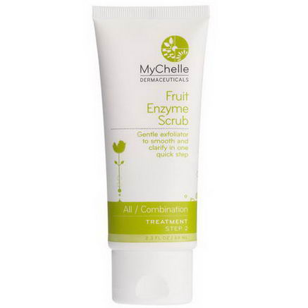 MyChelle Dermaceuticals, Fruit Enzyme Scrub, All / Combination, Treatment, Step 2, 2.3 fl oz (68 ml)