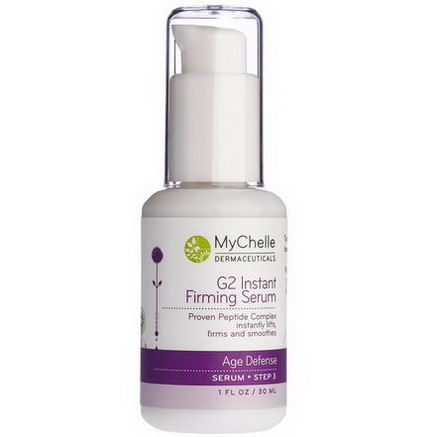 MyChelle Dermaceuticals, G2 Instant Firming Serum, Age Defense, Step 3, 1 fl oz (30 ml)