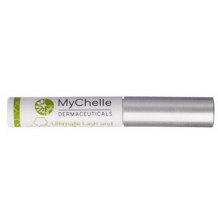 MyChelle Dermaceuticals, Ultimate Lash and Brow Serum, All/Combination, Step 3, 0.16 fl oz (4.8 ml)