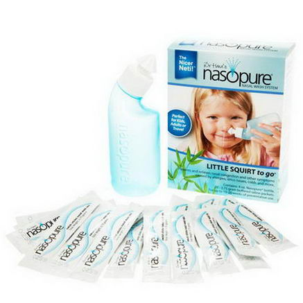 Nasopure, Nasal Wash System, Little Squirt To Go, 1 Kit