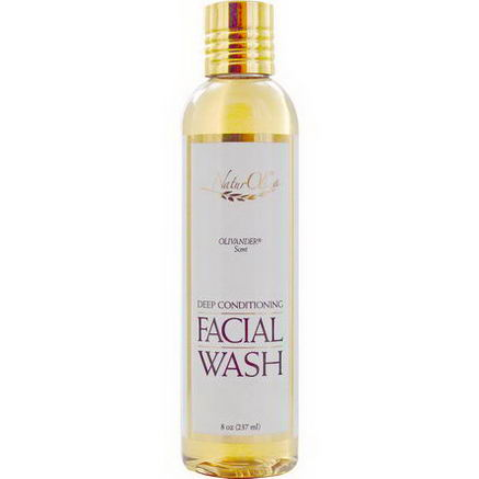 NaturOli, Facial Wash, Olivander Scent, 8oz (237 ml)