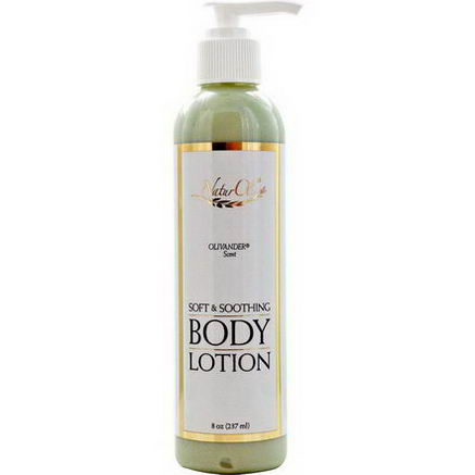 NaturOli, Soft & Soothing, Body Lotion, Olivander Scent, 8oz (237 ml)