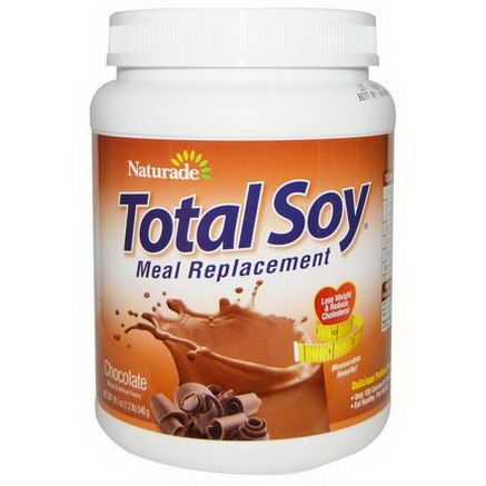 Naturade, Total Soy, Meal Replacement, Chocolate, 19.1oz (540g)