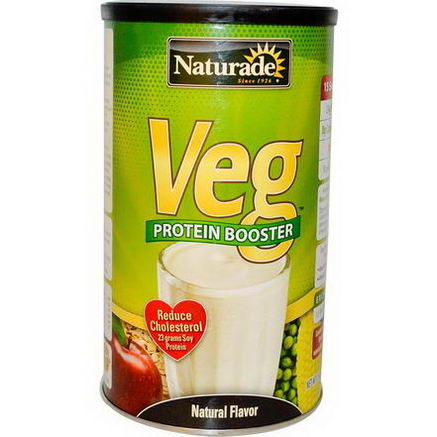 Naturade, VEG, Protein Booster, Natural Flavor, 15oz (426g)