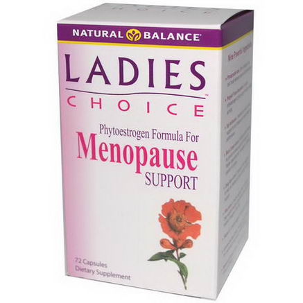 Natural Balance, Ladies Choice, Menopause Support, 72 Capsules