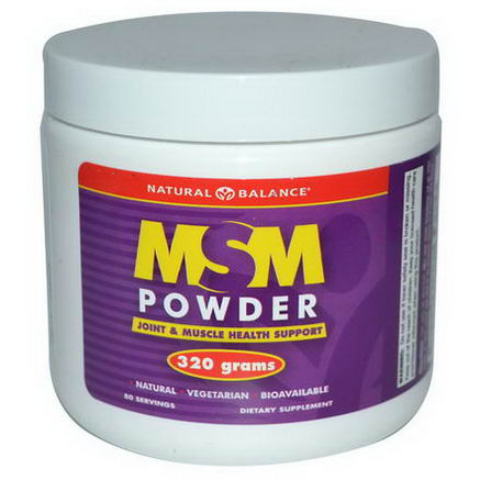 Natural Balance, MSM Powder, 320g