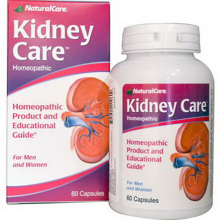 Natural Care, Kidney Care, 60 Capsules