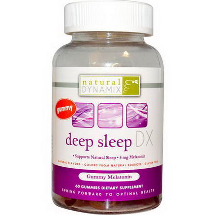 Natural Dynamix, Deep Sleep DX, 60 Gummies