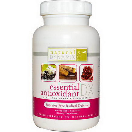 Natural Dynamix, Essential Antioxidant DX, 60 Veggie Caps