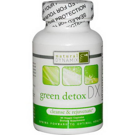 Natural Dynamix, Green Detox DX, 60 Veggie Caps