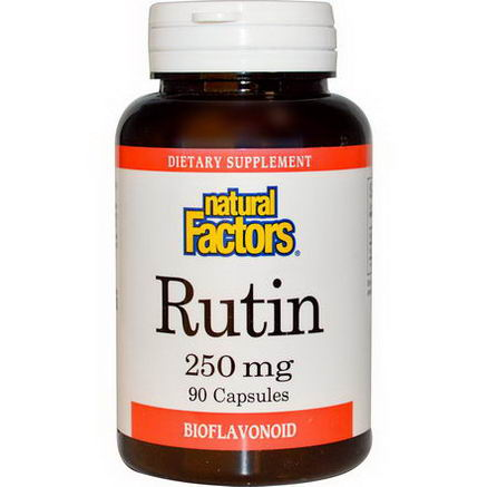 Natural Factors, Rutin, 250mg, 90 Capsules