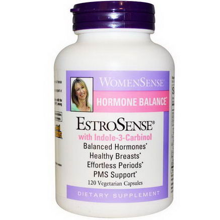 Natural Factors, WomenSense, EstroSense, Hormone Balance, 120 Veggie Caps