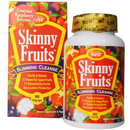 Natural Max, Skinny Fruits, Slimming Cleanse, 90 Veggie Caps