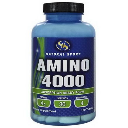 Natural Sport, Amino 4000, 120 Tablets