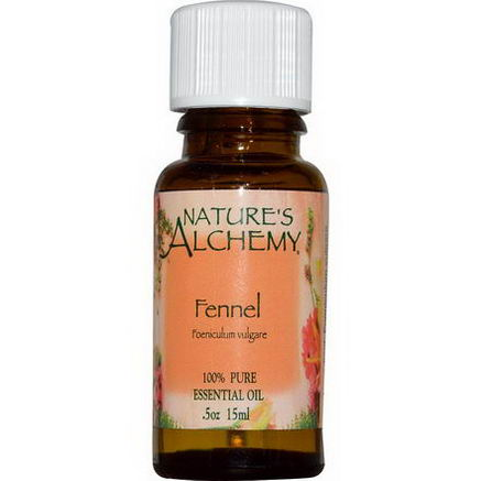 Nature's Alchemy, Essential Oil, Fennel, 0.5oz (15 ml)