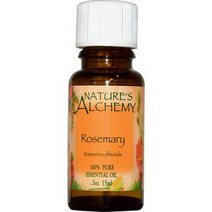 Nature's Alchemy, Essential Oil, Rosemary, 0.5oz (15 ml)