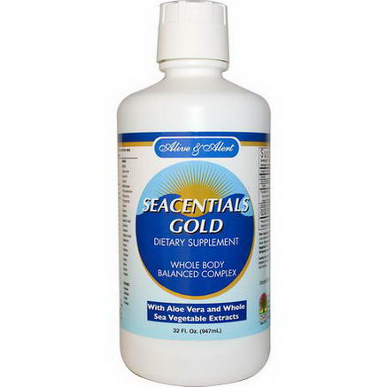 Nature's Answer, Alive and Alert, Seacentials Gold, 32 fl oz (947 ml)