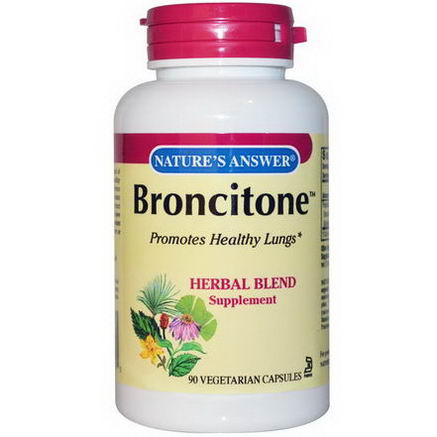 Nature's Answer, Broncitone, 90 Veggie Caps