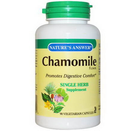 Nature's Answer, Chamomile Flower, 90 Veggie Caps