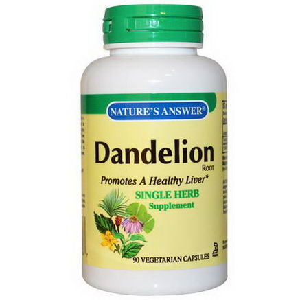 Nature's Answer, Dandelion Root, 90 Veggie Caps
