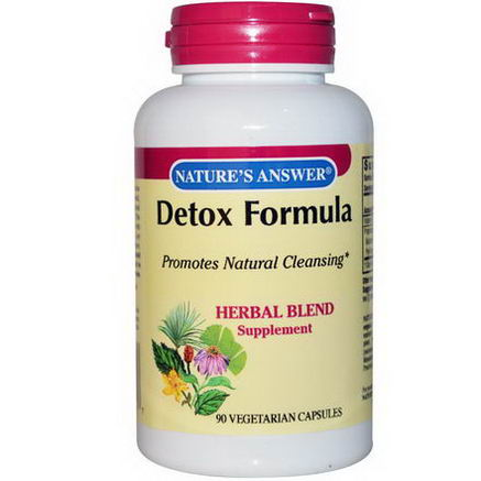 Nature's Answer, Detox Formula, 90 Veggie Caps