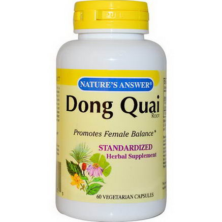 Nature's Answer, Dong Quai Root, 60 Veggie Caps