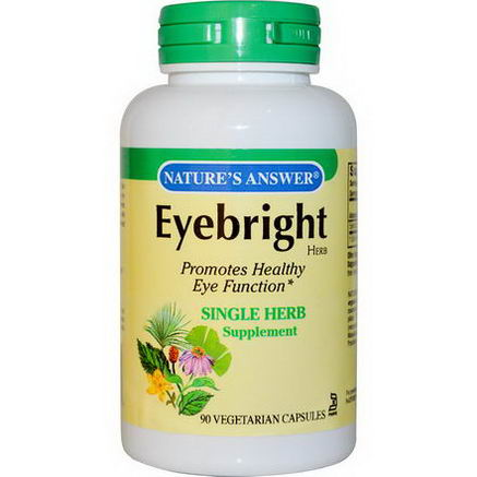 Nature's Answer, Eyebright Herb, 90 Veggie Caps