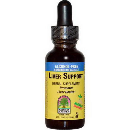 Nature's Answer, Liver Support, Alcohol-Free, 1 fl oz (30 ml)