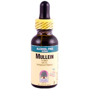 Nature's Answer, Mullein Flower Ear Oil, Alcohol-Free Extract, 1 fl oz (30 ml)