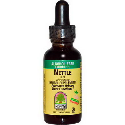 Nature's Answer, Nettle Leaf, Alcohol-Free Extract (1:1), 1 fl oz (30 ml)