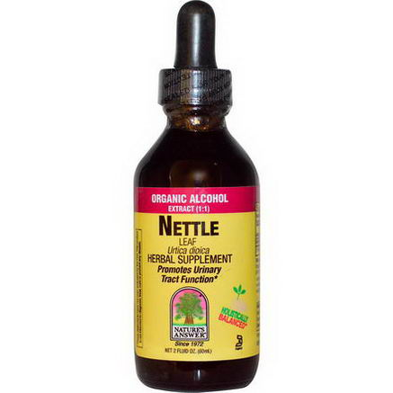Nature's Answer, Nettle, Leaf, Organic Alcohol, 2 fl oz (60 ml)
