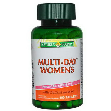 Nature's Bounty, Multi-Day Women's, 100 Tablets