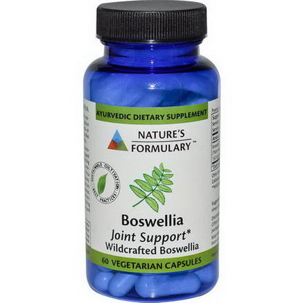 Nature's Formulary, Boswellia, Joint Support, 60 Veggie Caps