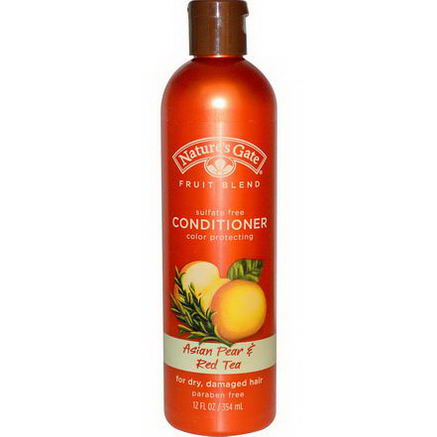 Nature's Gate, Conditioner, Color Protecting, Asian Pear & Red Tea, 12 fl oz (354 ml)