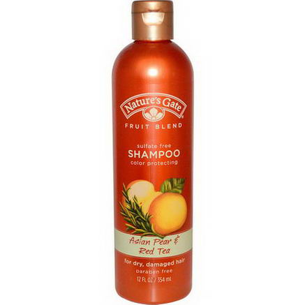 Nature's Gate, Fruit Blend, Shampoo, Asian Pear & Red Tea, 12 fl oz (354 ml)