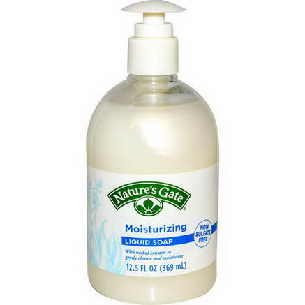 Nature's Gate, Liquid Soap, Moisturizing, 12.5 fl oz (369 ml)